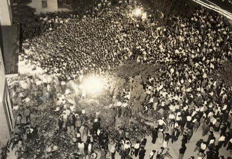 1953(昭和28)年 静岡公会堂前