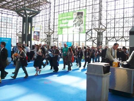 IDPF Digital Book 2010の会場となった、ニューヨーク市ジェイコブ・ジャビッツ・コンベンションセンター
