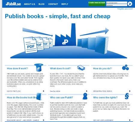 Pubit.seのサイトはスウェーデン語だが、Googleツールバーの翻訳機能で英語にすると問題なく読める。