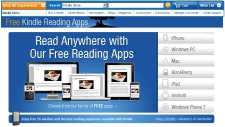 キンドルとは端末の名前ではなく、アプリによる読書も可能な、アマゾンの電子書籍プラットフォーム全体をさす。