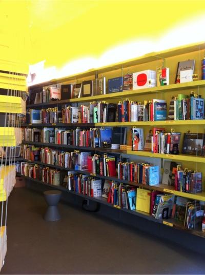 ヴァン・アレン・ブックスの店内風景。