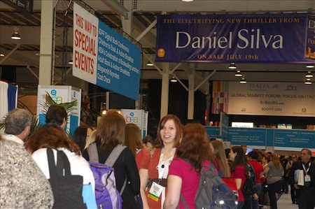ブックエキスポ・アメリカ2011の会場風景(BEA2011 Digital Press Room提供)。