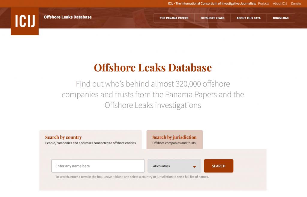リークされたデータの一部が公開され、ウェブから検索できるようになった。