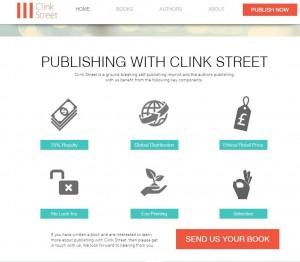 クリンク・ストリート・パブリッシングのサイト。