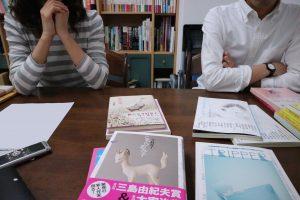 ブックオカにも携わられる編集等担当の池田さんと、文学フリマなどにも日本各地へ出向かれる営業担当の園田さん